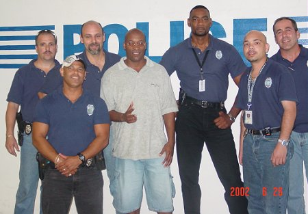 John with the Miami PD Gang unit