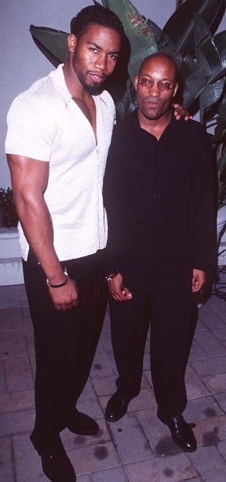 John with Michael Jai White