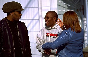 John directing Busta Rhymes and Toni Collette